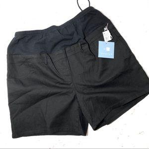 Pants - Maternity black shorts